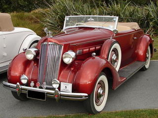 1936 120B Convertible Coupe
