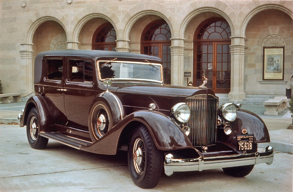 For Sale: 1934 Packard Twelve Formal Sedan, Model 1107. USD $250k