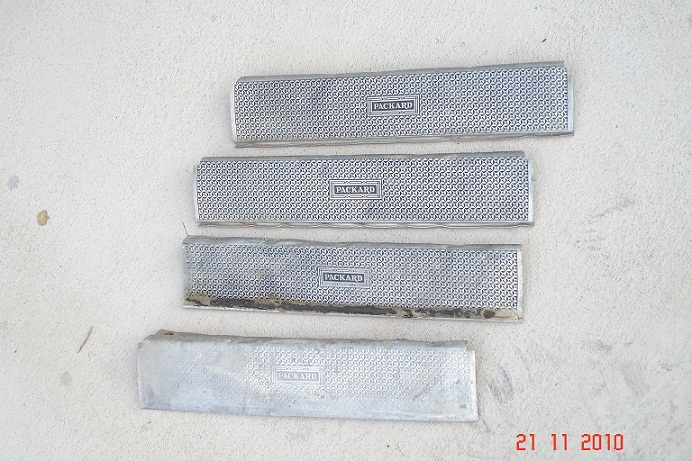 For Sale: Set of 4 Packard Toeplates